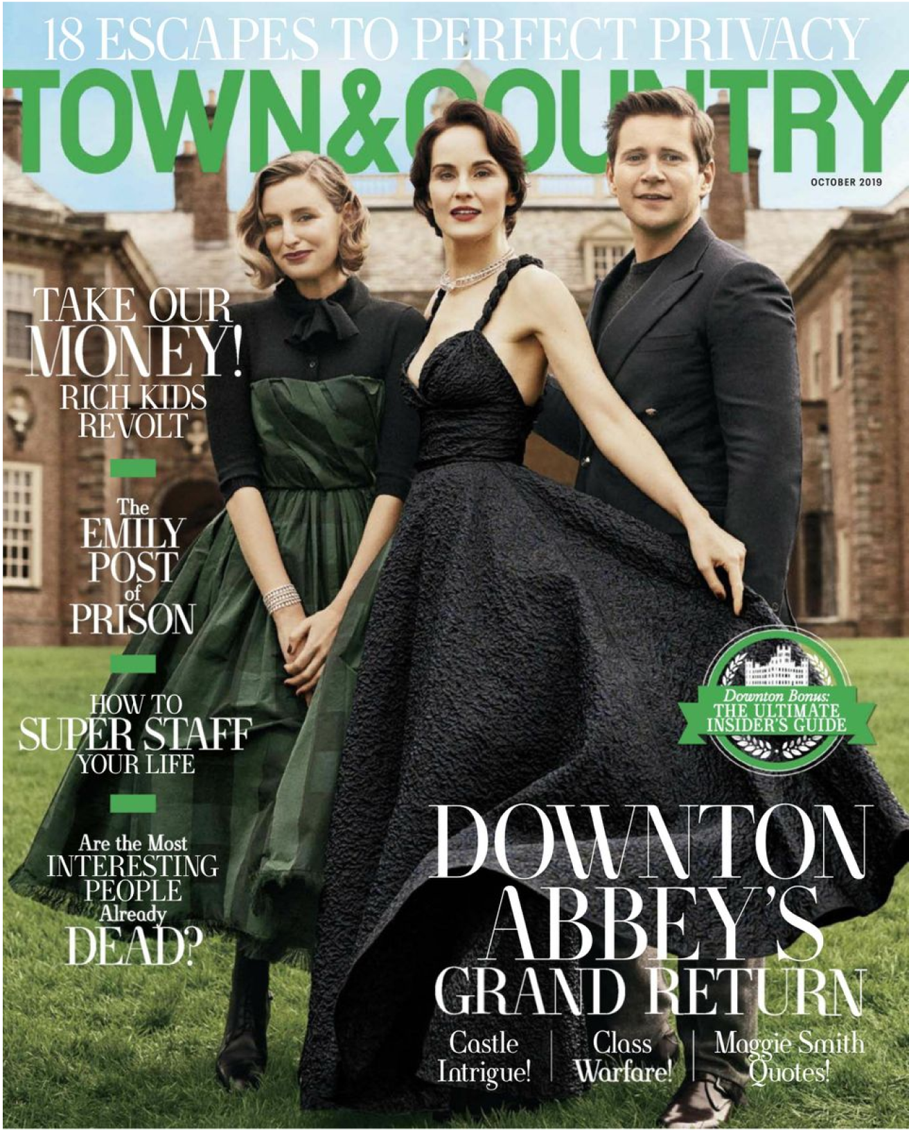 Town And Country Magazine Cover